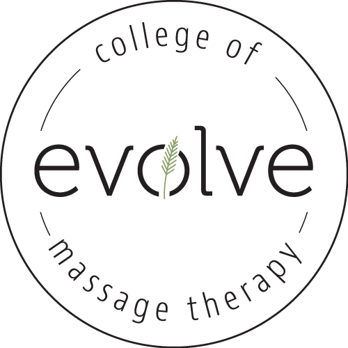 Evolve College of Massage Therapy Circle Logo